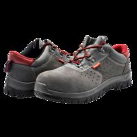 Bellota Zapato de seguridad serraje Classic metálica y transpirable