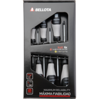 Bellota Electrician's screwdriver kit for tightening and loosening screws