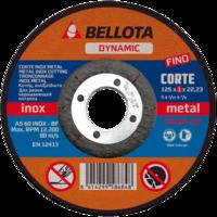 Bellota Disco abrasivo corte inox-metal extrafino