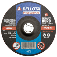 Bellota Disco desbaste inox -metal duro
