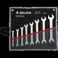 Bellota Jeu de 8 clés plates pour le serrage et ajustement de tout type de vis