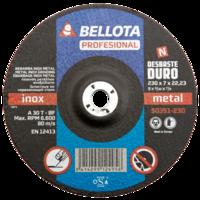 Bellota Disco abrasivo desbaste inox-metal duro