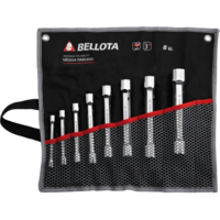 Bellota Set of 6 double head socket wrenches for tightening and adjusting all kinds of bolts