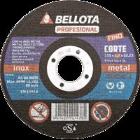 Bellota Disco abrasivo corte inox extrafino