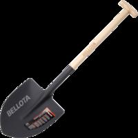 Bellota Pala Punta mango muleta para cavar y recoger escombros