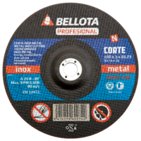 Bellota Disco abrasivo corte inox metal