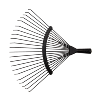 Bellota Round prong lawn rake for cleaning fine gravel floors