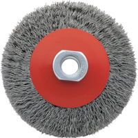 Bellota Industrial conic brush for use with a mini-grinder.
