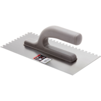 Bellota U Square notched trowel for preparing surfaces for tiling.