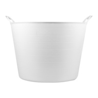Bellota 42L WHITE PLASTIC BUCKET FOR FOOD USE