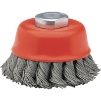 Bellota Industrial cup brush for hard to reach areas.