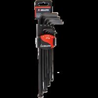 Bellota Set of 9 Allen round head keys for tightening