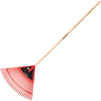 Bellota Plastic lawn rake with handle
