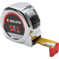 Bellota Chromed wide measuring tape with magnet