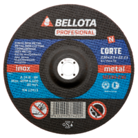 Bellota Disco abrasivo corte inox metal fino