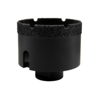 Bellota Corona de diamante corte en seco para perforar materiales