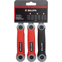 Bellota Set of 3x 8 folding Allen and Torx keys