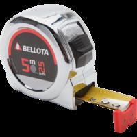 Bellota Flexómetro Cromado para medición